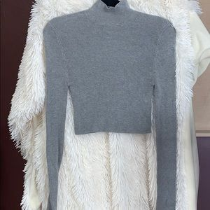Ann Taylor Gray Sweater